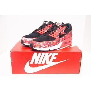 Nike Air Max 90 x Atmos Infrared Size 9 AQ0926 001